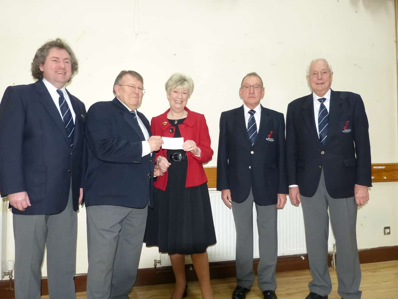 Choir Raises Funds for Farnham Hospital