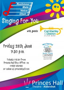 Singing For You and Naomi House & Jacksplace @ Princes Hall Theatre