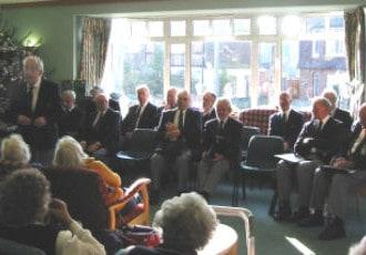 Choir history talk from Ian Wood
