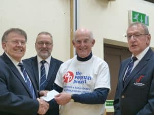 Prostate Project Cheque
