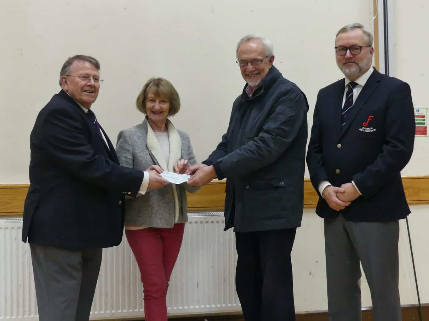 Donations from concert to fund Farnham defibrillator