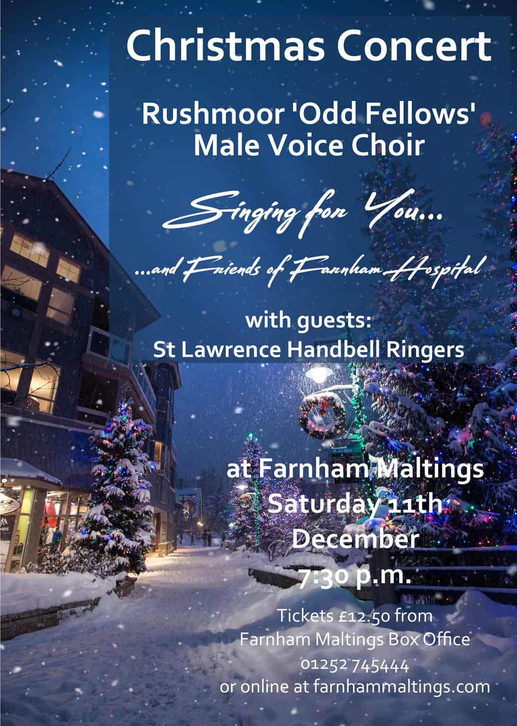 You are currently viewing Singing For You – Christmas Concert