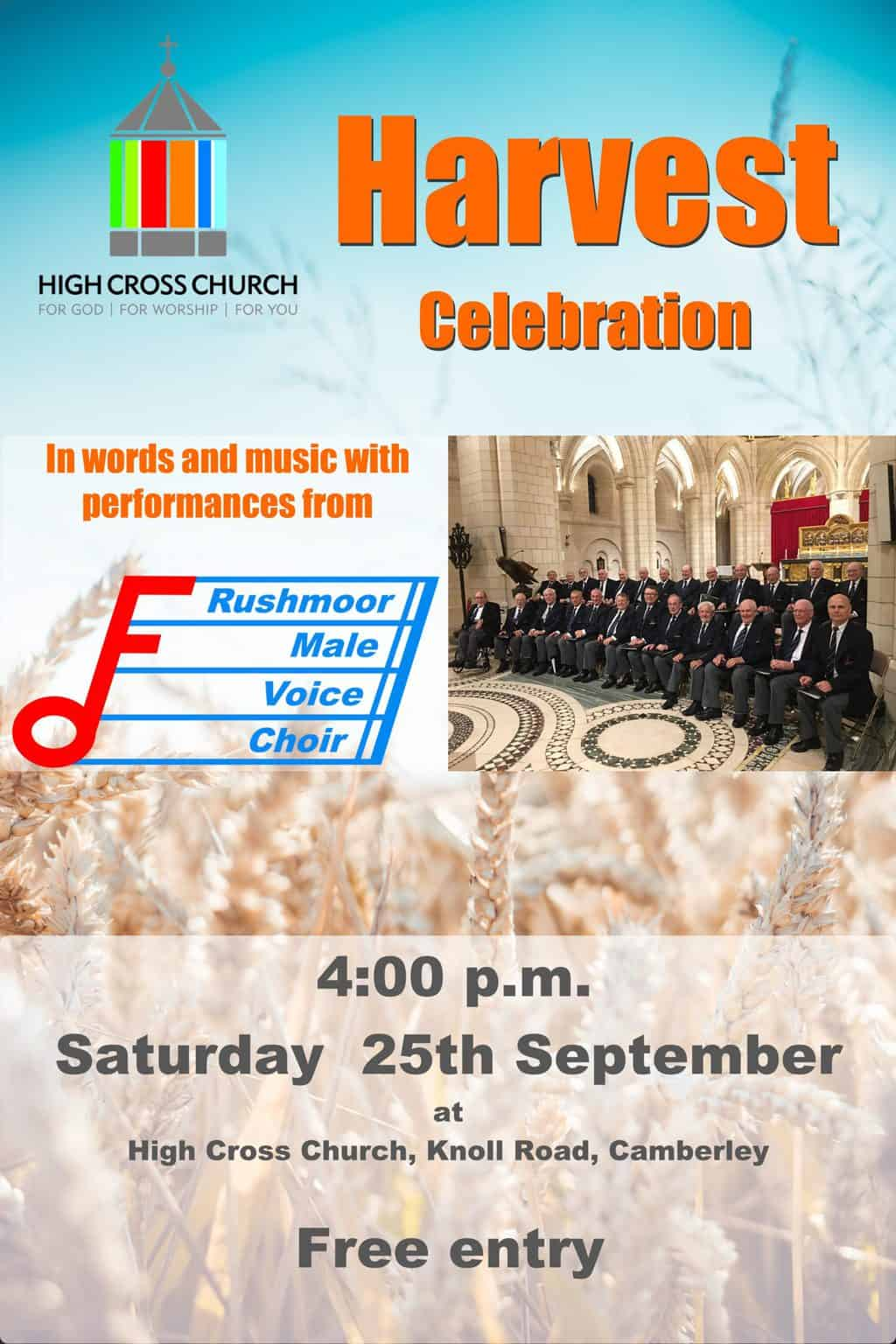 You are currently viewing High Cross Harvest Celebration Concert